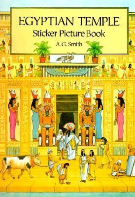 Egyptian Temple Sticker Picture Book