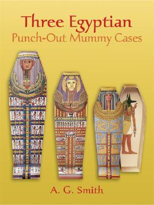 Nested Egyptian Punch-out Mummy Cases