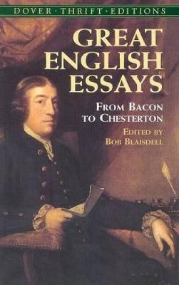 Great English Essays : Bob Blaisdell : 9780486440828