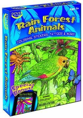 Rain Forest Animals Fun Kit