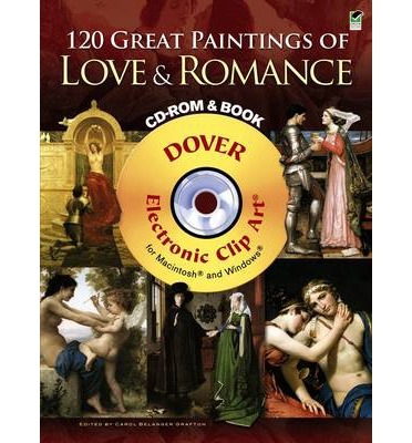 120 Great Paintings of Love and Romance  Dover Electronic Clip Art   Paperbac...
