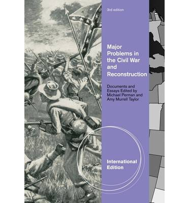 south won reconstruction essay Civil war and reconstruction, 1861-1877 the failure of compromise the american civil war  the south would have won the war northern victory consolidated the american union in this.