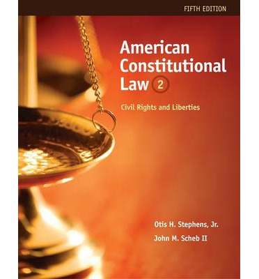 American Constitutional Law: Volume II : Civil Rights and Liberties