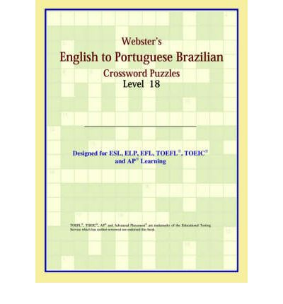 Webster's English to Portuguese Brazilian Crossword Puzzles : Level 18