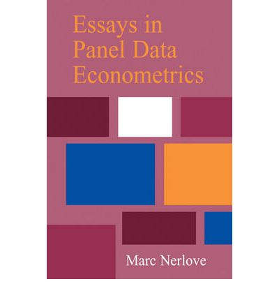 an essay on the history of panel data econometrics Essays on time series and panel data econometrics download essays on time series and panel data together with a cogent new essay on the history of the.