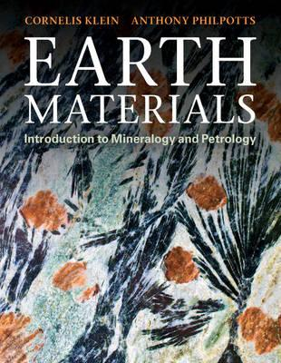 Earth Materials Introduction To Mineralogy And Petrology Pdf