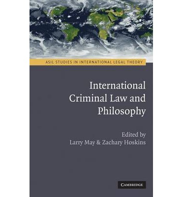 essays on international criminal law and international criminal procedure Essays on international criminal justice by hector olasolo this new book of essays an introduction to international criminal law and procedure robert cryer.
