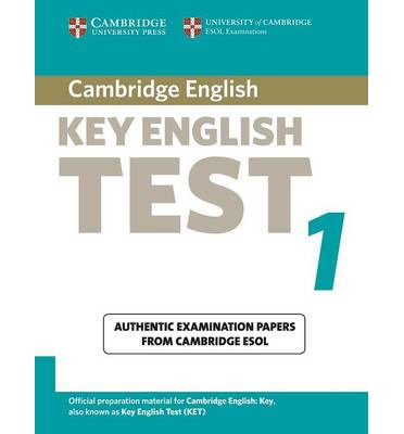 Cambridge Key English Test 1 Student Book : Examination Papers from the University of Cambridge ESOL Examinations