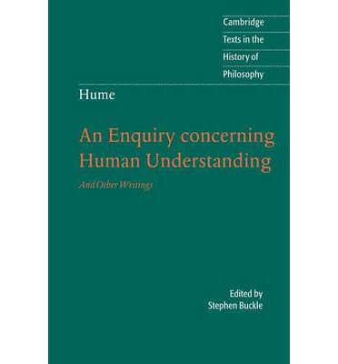 an analysis of david humes theoretical book an inquiry concerning human understanding Wayne waxman, david hume 2 third book (retitled enquiry concerning human understanding in 1758) moral philosophy of book iii of the treatise, while eschewing the theoretical framework of the.