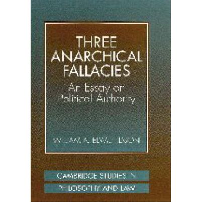 Three anarchical fallacies an essay on political authority
