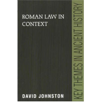 Roman Law in Context