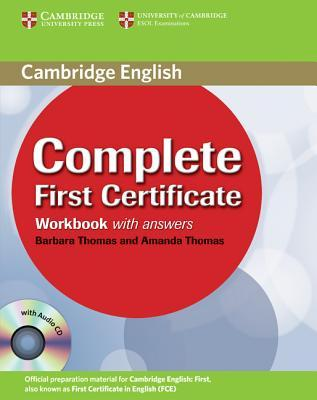 Complete First Certificate Workbook with Answers and Audio CD