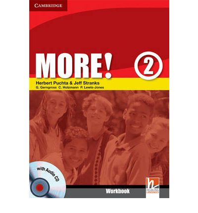 More! Level 2 Workbook with Audio CD: Level 2