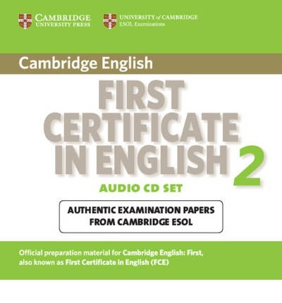 Cambridge First Certificate in English 2 for Updated Exam Audio CDs (2): No. 2