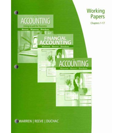 accounting excel intermediate papers working