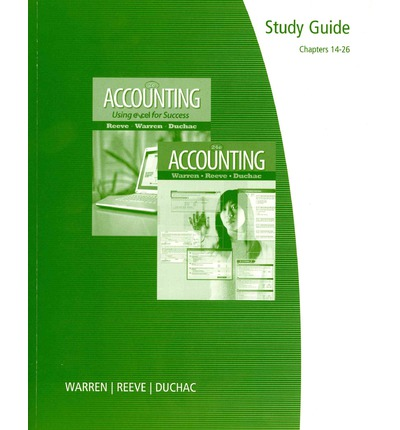 accounting warren reeve duchac ch 12 By carl s warren, james m reeve, jonathan duchac this author-written guide provides students quiz and test hints, matching questions, fill-in-the-blank questions (parts a & b), multiple-choice questions, true/false questions, exercises, and problems for each chapter.