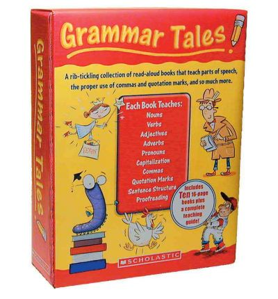 Scarica libri di testo gratis reddit Grammar Tales Box Set : A Rib-Tickling Collection of Read-Aloud Books That Teach 10 Essential Rules of Usage and Mechanics PDF by Inc. Scholastic,Scholastic Teaching Resources