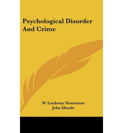 personality disorders and criminal behaviro Personality disorders were the second most common diagnoses asperger's disorder and criminal behavior: forensic-psychiatric considerations.