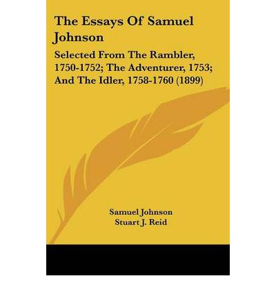 Samuel johnson selected essays