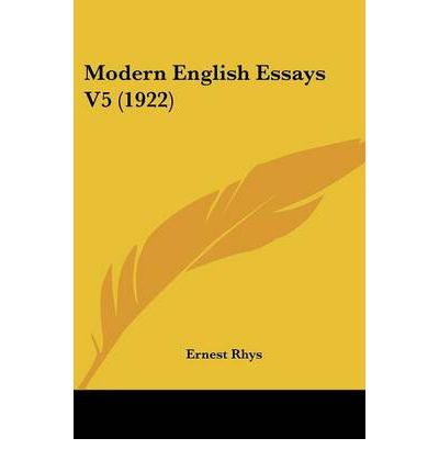 modern british essays Essays (penguin modern classics) and over 2 million other books are   displaying an almost unrivalled mastery of english plain prose, orwell's essays  created.