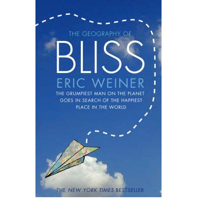 "geography of bliss Eric weiner is the author of the new york times bestseller the geography of bliss, as well as two other books his latest book, the geography of genius, has been called ""smart, funny and utterly delightfulweiner's best book yet"" the geography of bliss has been translated into 20 languages."
