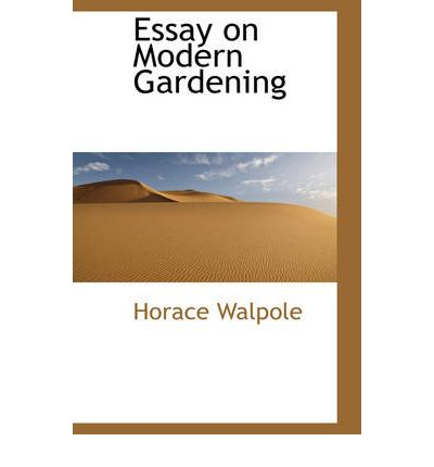 walpole essay Reading: an essay [hugh walpole] on amazoncom free shipping on qualifying offers vg/fair, includes slip cover in fair shape, 89 pages.