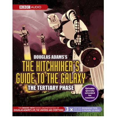 the hitchhiker 39 s guide to the galaxy tertiary phase douglas adams 9780563510383. Black Bedroom Furniture Sets. Home Design Ideas