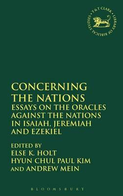 A Prophet to the nations : essays in Jeremiah studies
