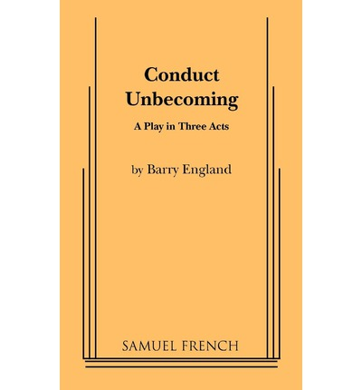 conduct unbecoming Unbecoming definition is — not becoming especially : not according with the standards appropriate to one's position or condition how to use unbecoming in a.