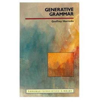generative grammar Generative grammar is a linguistic theory which describes a set of rules to use sequence of words properly to form grammatical sentences the generative grammar thus includes the studying particular rules in relation to the syntax and morphology of sentences in.