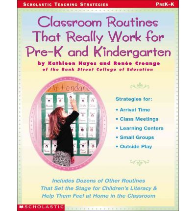classroom routines that really work for pre k and