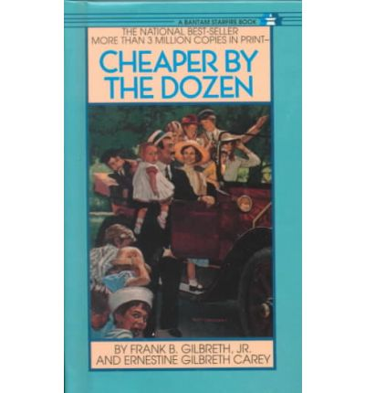 "... larger cover image of ""Cheaper by the Dozen"" by Frank B. Gilbreth, Jr"