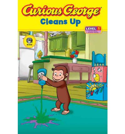 Curious George Cleans Up: Level 1: Curious about Technology
