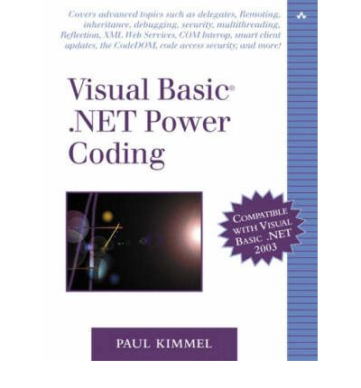 it visual basic textbook Visual basic pdf ebooks - all it ebooks now, this 5th edition is a self-paced, professional book that shows how to use visual studio 2012, vb 2012.