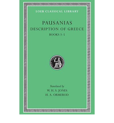 Description of Greece: Bks.III-V v. 2