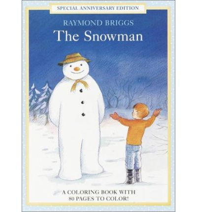 The Snowman Coloring Book Raymond Briggs 9780679892151