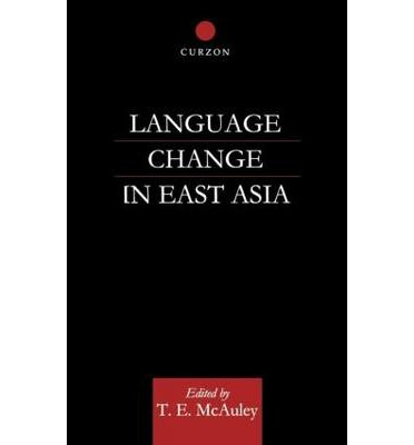 Language Change in East Asia