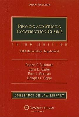 Proving and Pricing Construction Claims : Cumulative Supplement