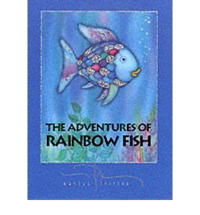 The adventures of the rainbow fish the rainbow fish for Rainbow fish and the big blue whale