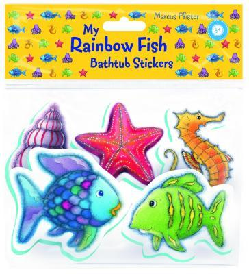 Rainbow Fish Bath Stickers