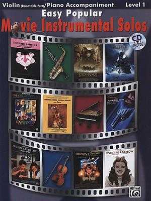 Easy Popular Movie Instrumental Solos, Level 1