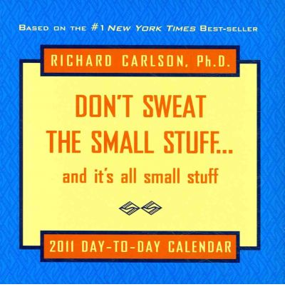 richard carlson don t sweat the small stuff pdf