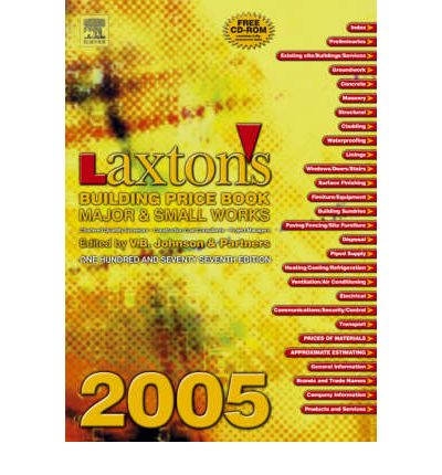 Laxton's Building Price Book 2005