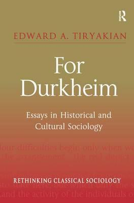durkheim essays David Émile durkheim as durkheim indicated in several essays, it was in leipzig that he learned to appreciate the value of empiricism and its language of.