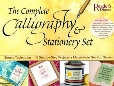 The Complete Calligraphy Stationary Set Reader 39 S