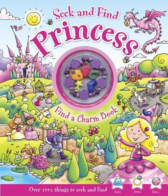 Seek and Find Princess : Find a Charm Book