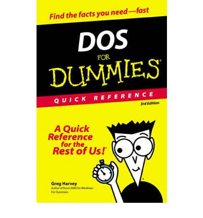 dos for dummies 3rd edition pdf