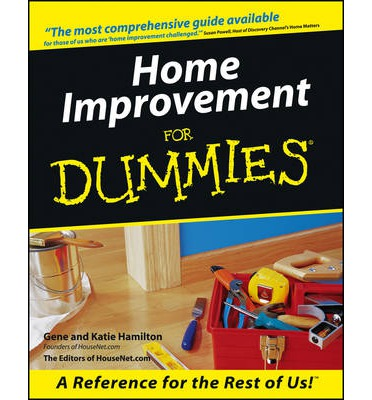 Home improvement for dummies gene hamilton 9780764550058 Interior decorating for dummies