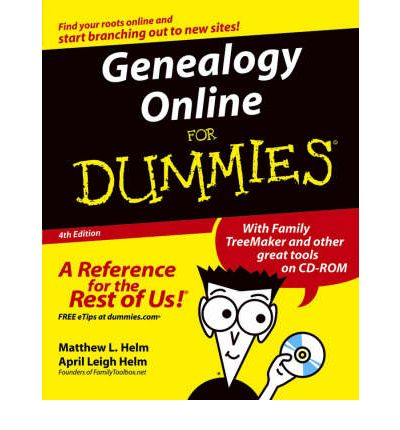 Buon download gratuito di ebook Genealogy Online For Dummies PDF iBook PDB by Matthew L. Helm, April Leigh Helm