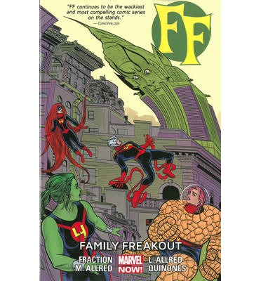 FF: Family Freakout (Marvel Now) Volume 2